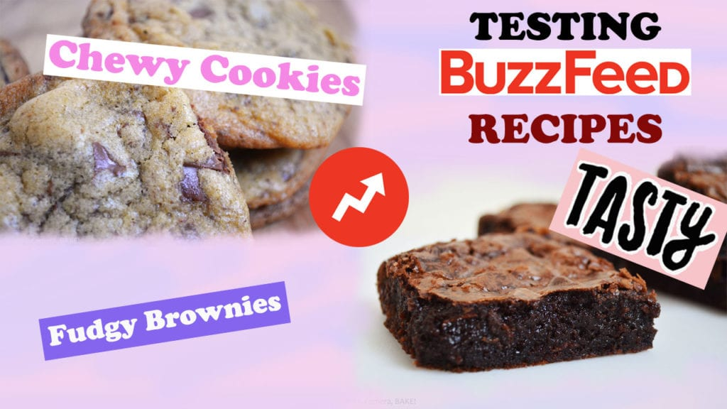 BuzzFeed's Tasty Brownies and Chocolate Chip Cookies Recipe Taste ...